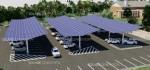 Town Building Solar Canopy