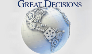 Great Decisions @  |  |