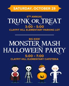 WCPA's Trunk or Treat @ Claypit Hill School | Wayland | Massachusetts | United States