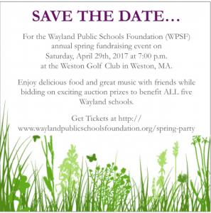 Wayland Public Schools Foundation Annual Spring Fling @ Weston Golf Club | Weston | Massachusetts | United States