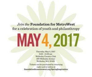 Foundation for MetroWest 2017 Spring Inspiration Breakfast @ Wellesley Country Club | Wellesley | Massachusetts | United States