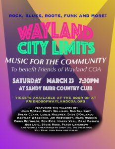 Wayland City Limits @ Sandy Burr Country Club