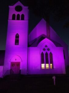 Shine a Light Community Vigil Against Domestic Violence: @ First Parish in Wayland or Zoom