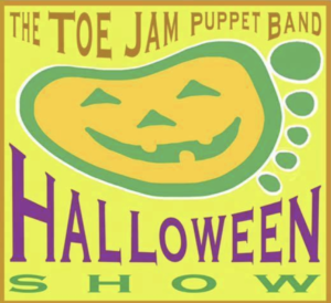 Halloween Show with the Toe Jam Puppet Band