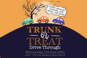 Tri-M Trunk or Treat @ Wayland High School Parking Lot