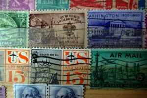 History of the Post Office Through Stamps @ Zoom