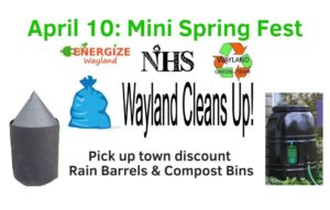 Mini Spring Fest at the Wayland Transfer Station @ Wayland Transfer Station