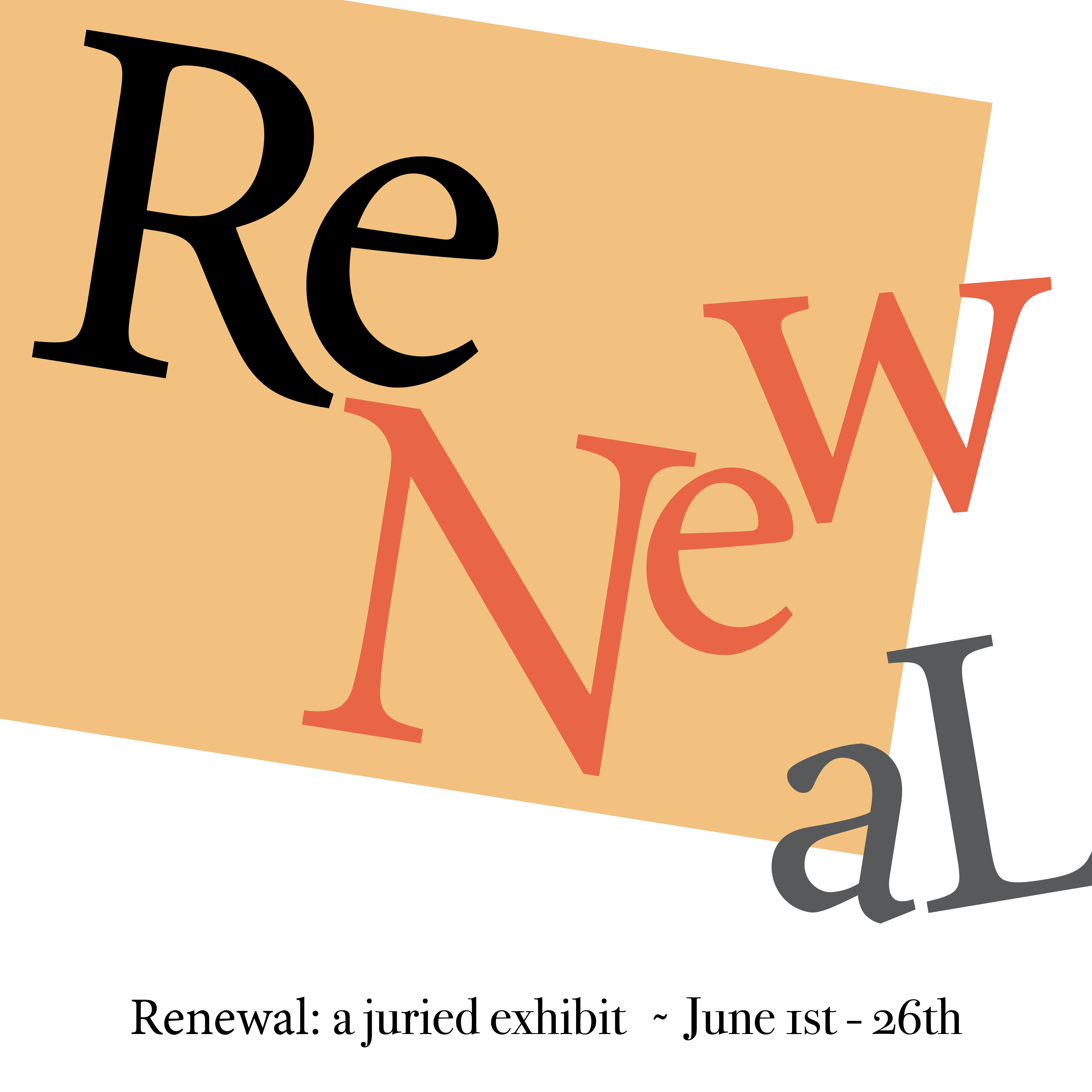 """""""Renewal,"""" A Juried Exhibit @ Arts Wayland and The W Gallery"""