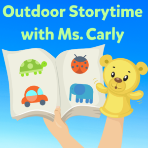 Outdoor Storytime with Ms. Carly @ Wayland LIbrary